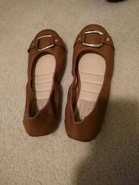 brown flats womens size 8.5 647 mi
