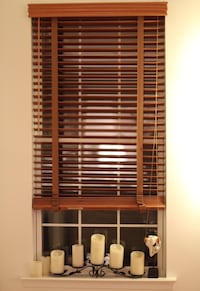 3 Real Wood Window Blinds