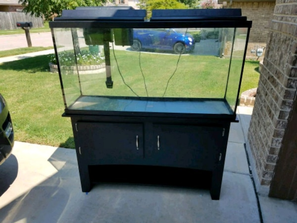 used 60 gallon tank and stand for sale in fort worth letgo