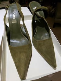 Prada Women's Shoes - size 38 (US 8) Washington, 20011