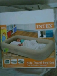 gray Intex Kidz Travel bed set box Orange City, 32763