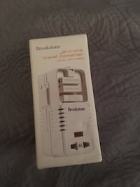 Brookstone travel converter Ashburn, 20147