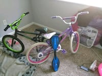 Ripstick and 2 bikes perfect condition Spartanburg, 29303