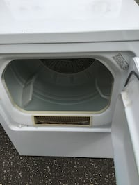 White front-load clothes dryer  West Islip, 11795