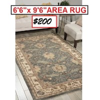 AJ- Constance Hand-Tufted Blue Area Rug Mississauga