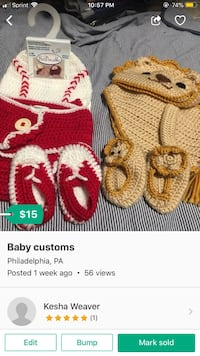 toddler's assorted knit caps 140 mi