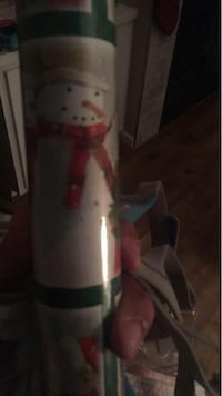 Santa Claus and snowman Christmas wrapping paper Newport News, 23601