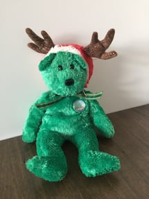 Ty Christmas plush bear