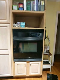 Jenn Air 30 inch oven and cabinet 75 km
