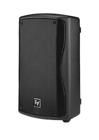 """New Electro-Voice ZX1 1x8"""" 2 Way Passive PA Cabinet Speaker without box, FREE CABLES Frisco"""