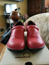 red leather  casual  shoes by Borne Silver Spring, 20993