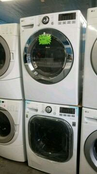 two white front-load washing machines Lynwood, 90262