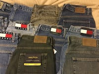 14 Men's Jeans - 31x32 to 34x34 - Tommy Nautica etc USED Germantown, 20874