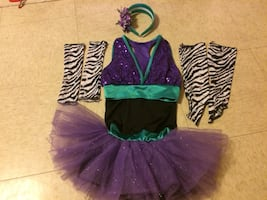 Girl Sparkly Ballet Dress Tutu 4-7 yrs