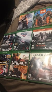 six Xbox One game cases Everett, 98208
