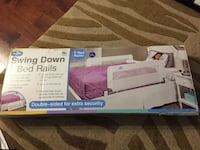 Double swing down bed rails for both sides brand new never used save $$ 506 km