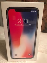 New Sealed Apple iPhone X 64 GB Space Grey Vaughan, L4L 8H3