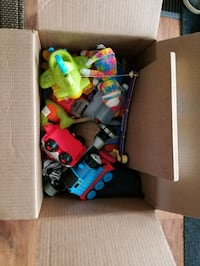 toddler's assorted plastic toys Edmonton, T6H 0A6
