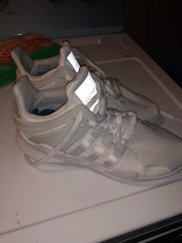 pair of white Adidas NMD shoes Portsmouth, 02871