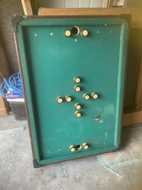 Bumber pool table