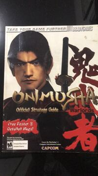 Onimusha Strategy Guide for PS2