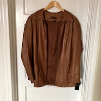 XXL LADIES DANIER LEATHER COAT $35