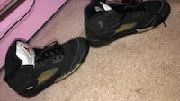 pair of black Air Jordan basketball shoes Brentwood, 11717