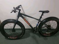 black and orange hardtail mountain bike Winnipeg, R3J 3J5