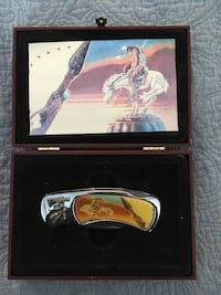 End of the Trail Knife Collectible by Lender in Case
