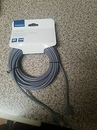 gray Insignia Cat-5e network cable