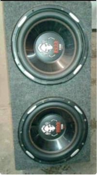 """2300 watts 12"""" speakers with 1500watts amp Manchester, 06045"""
