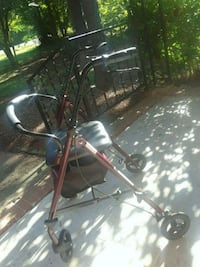 black and red rollator walker Rock Hill, 29730