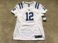 white and blue NFL jersey Hamilton, L8N 1X2