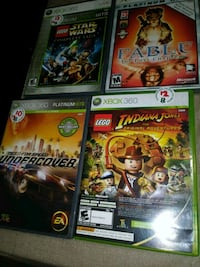 four assorted Xbox 360 game cases La Mesa, 91942