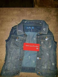 blue denim button-up jacket Lévis, G6V 4R1