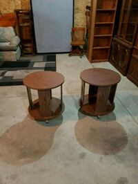 pair of vintage side tables  Brampton, L6X