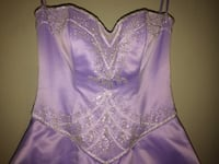 Beautiful Lavender Prom Dress Gainesville