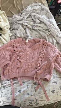 Cable Knit Sweater 594 mi