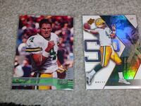 two football trading cards Santa Rosa, 95407