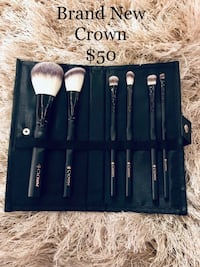 black and gray makeup brush set Washington, 20002