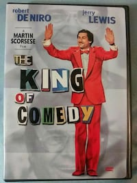 The King of Comedy dvd a.k.a Joker prequal