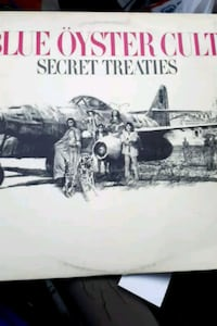 "Blue Oyster Cult ""Secret Treaties"" vinyl album La Plata, 20646"