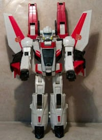 red and gray plastic toy 3745 km