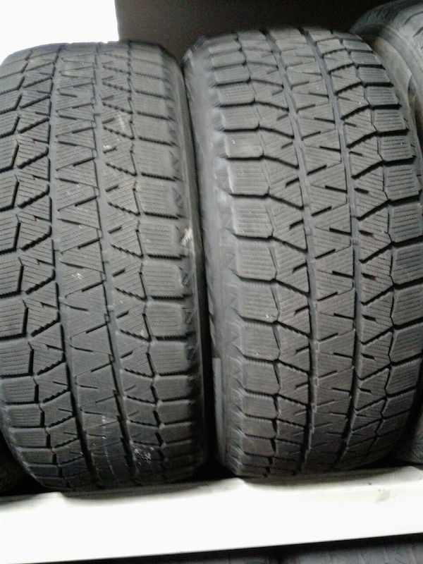 Winter Tires For Sale >> Used 4 Used Tires 225 50 18 Bridgesone Winter Tires For Sale In