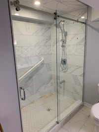 Frameless Glass Shower Burlington
