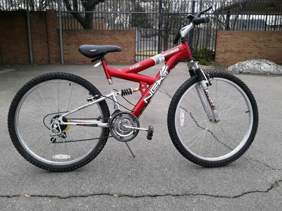 Photo Next mountain bike. Lots of treat. Great deal $30 obo