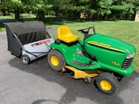 John Deere tractor and/or Lawn Sweeper West Friendship