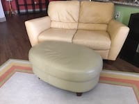 Real Leather Living Room Set...LIKE NEW!!