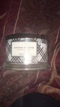 Winter Hearth scented candle
