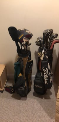 black and gray golf bag Gainesville, 20155